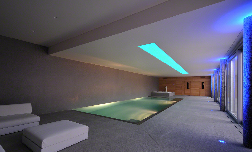 Comment faire un bel clairage pour sa piscine for Ventilation spa interieur