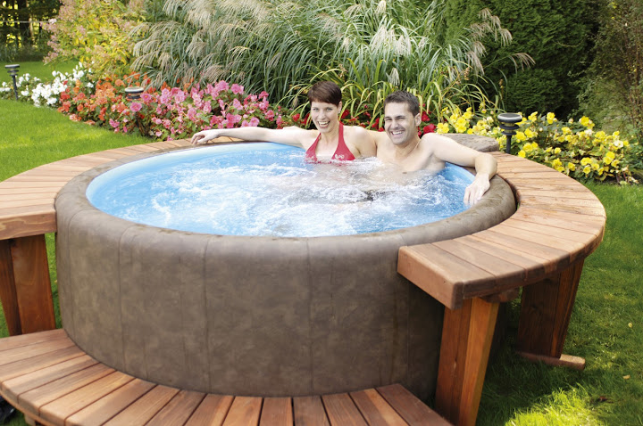 Jacuzzi gonflable castorama archives piscines et jacuzzi - Meuble spa gonflable ...