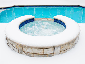 Les options possibles d'hivernage de la piscine